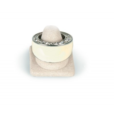 Silver/Off White Ring 208140