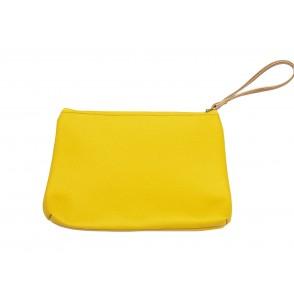 Τσαντάκι φάκελος κίτρινος