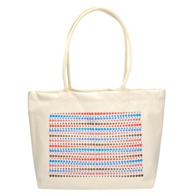 Τσάντα θαλάσσης υφασμάτινη λευκή