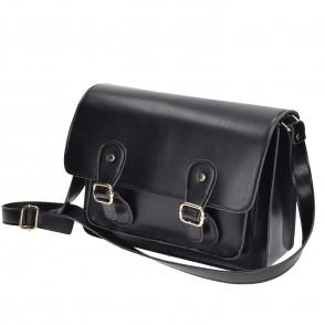 Τσάντα μαύρη ταχυδρόμου