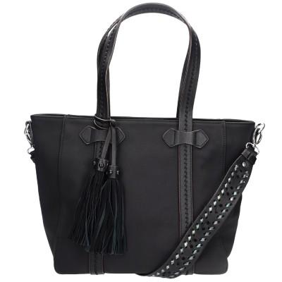 Τσάντα ώμου σε μαύρη απόχρωση