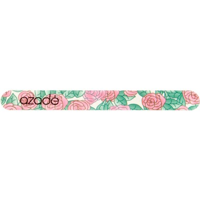 Nail File Floral Pink
