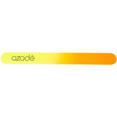 Nail File Two-Tone Yellow