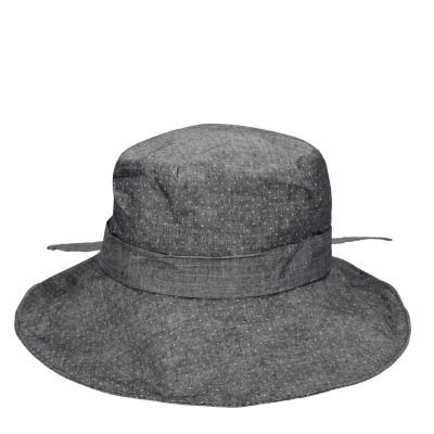 Καπέλο γκρί πουά