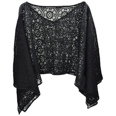 Azadé μπλούζα μαύρη πλεκτή