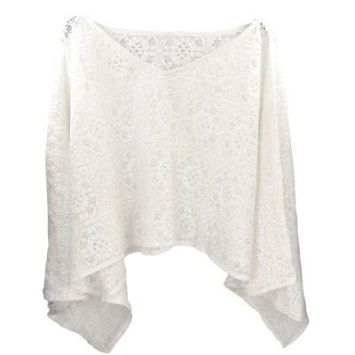 Azadé μπλούζα λευκή πλεκτή
