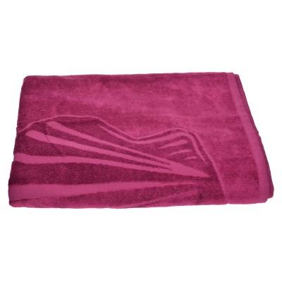 Πετσέτα θαλάσσης μωβ