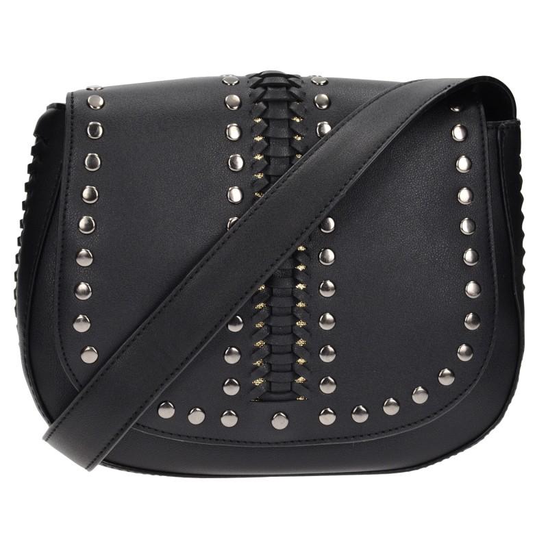 Τσάντα χιαστή μαύρη