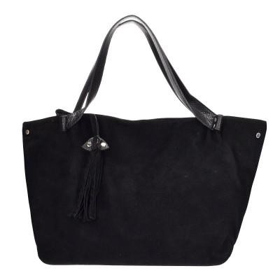 Τσάντα ώμου μαύρη