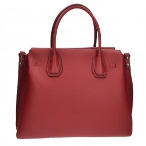 Τσάντα tote κόκκινη