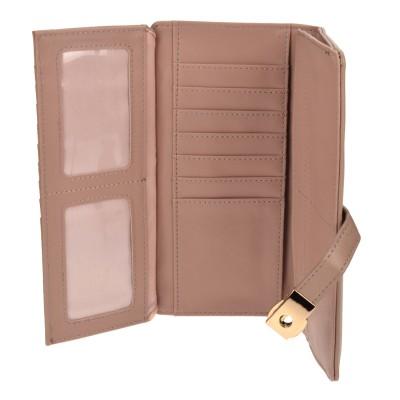 azade πορτοφόλι ροζ