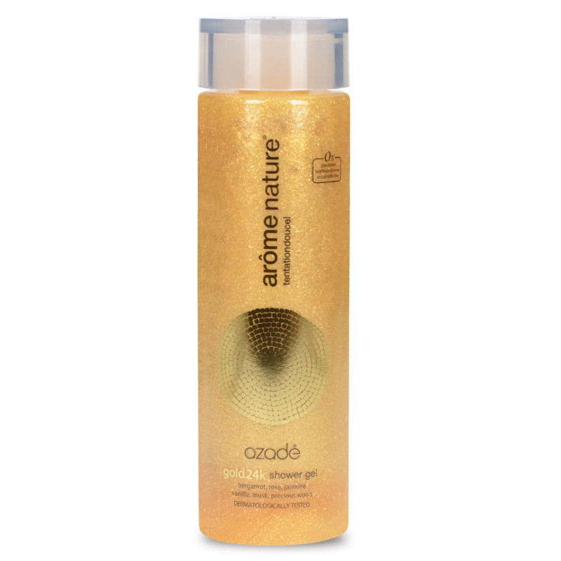 Αrôme Nature Shower Gel Gold 24k 300ml