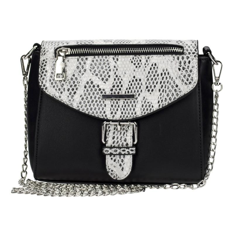 Azadé τσάντα μικρή χιαστί μαύρη