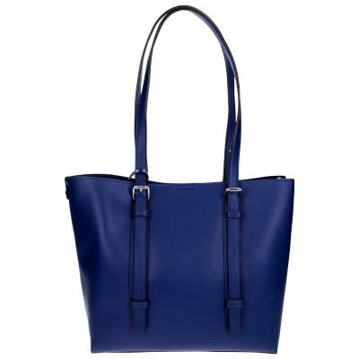 Azadé τσάντα ώμου μπλε