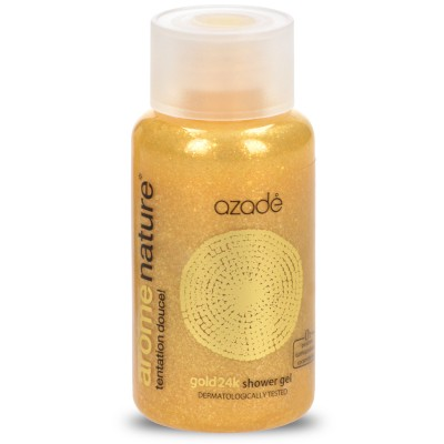 Αrôme Nature Shower Gel Gold 24k 50ml