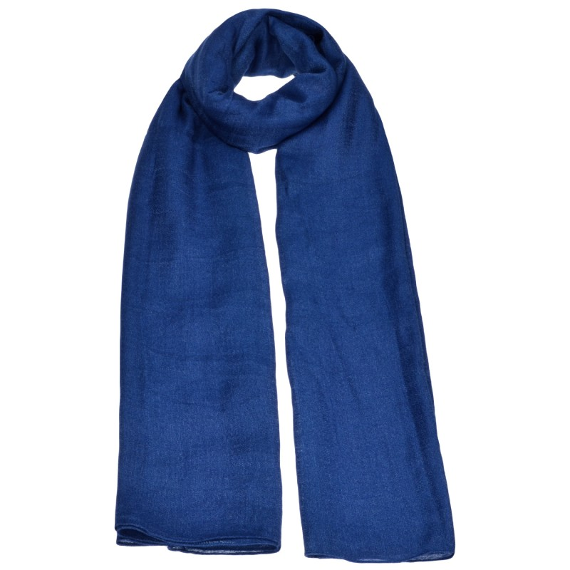 Φουλάρι Μπλε Royal Polyviscose Mousse
