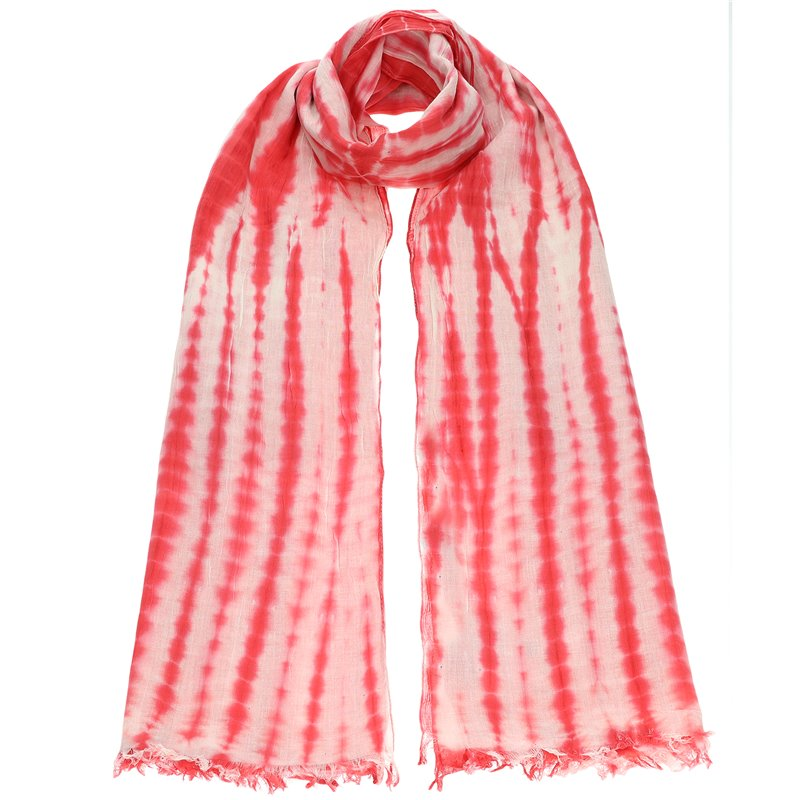 Φουλάρι Κόκκινο Tie Dye