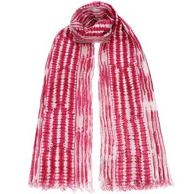 Φουλάρι Φούξια Tie Dye