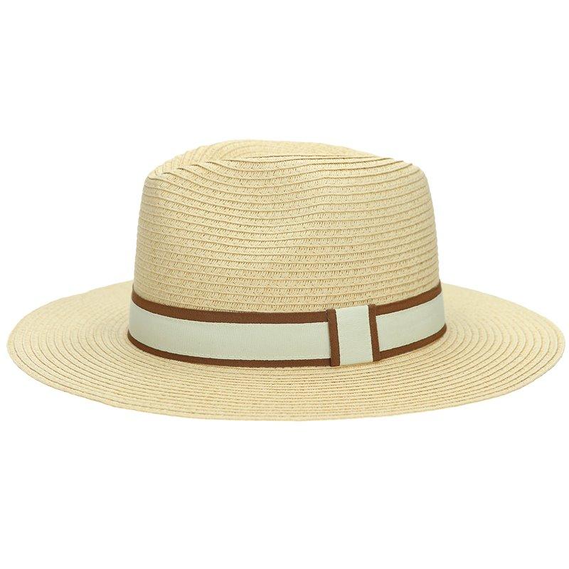 Panama Hat Natural/Tabac Beige