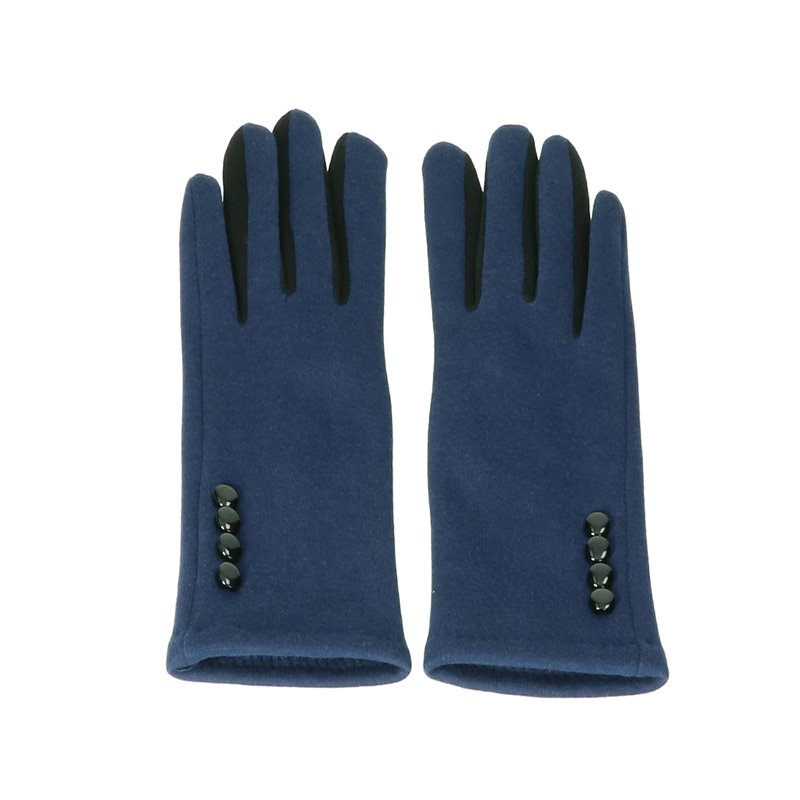 Gloves Navy Blue Touch Screen
