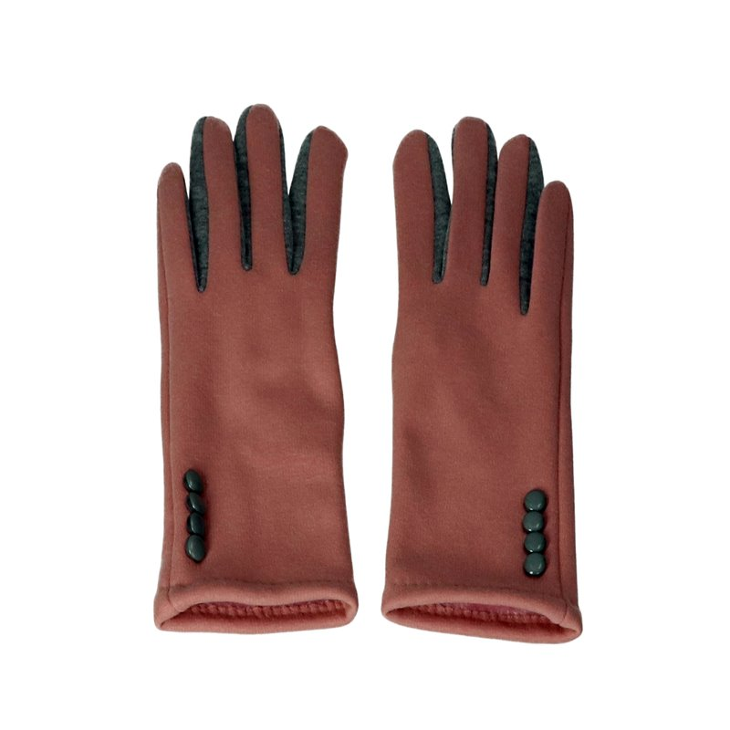 Gloves Pink Touch Screen